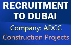 Dubai Recruitment for Construction Jobs - Abu Dhabi