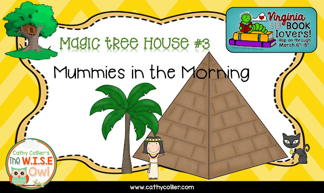 The Magic Tree House is the best series for sharing as a read aloud, in my opinion. Mummies in the Morning is another adventure for Jack and Annie.