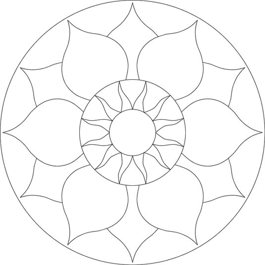 Roman Mosaic Patterns Free Printable Coloring Pages Sketch
