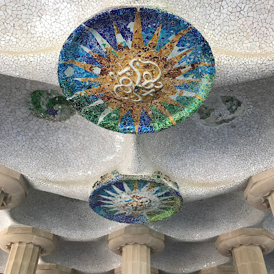 park guell gaudì barcellona