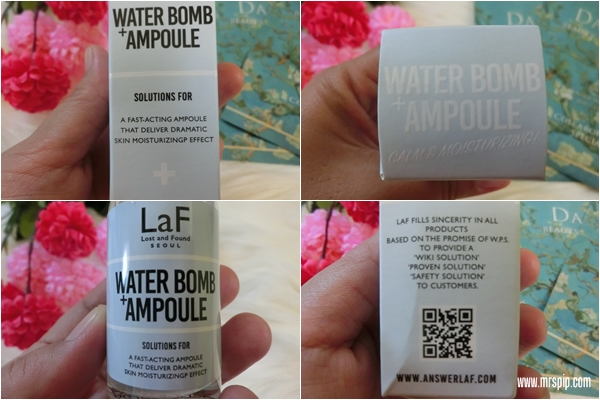 LaF Water Bomb Ampoule