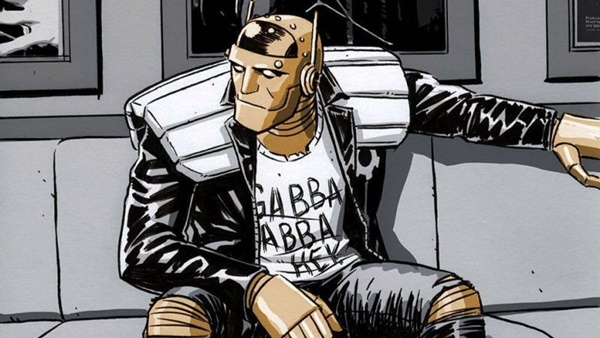 robot man doom patrol members