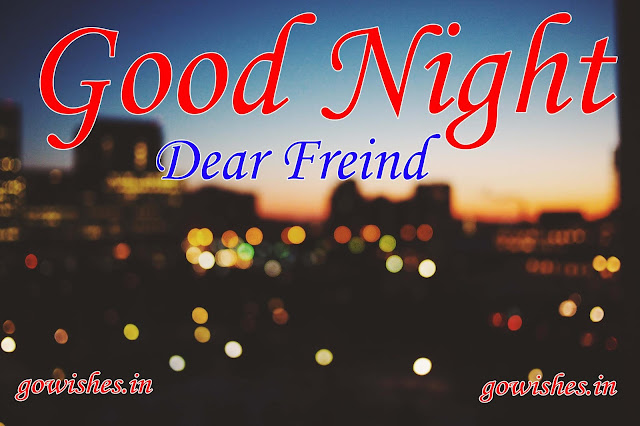 Good Night Wishes Image Wallpaper