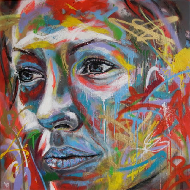 Уличный художник Дэвид Уокер (David Walker) 13