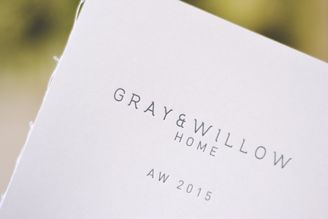 Gray and Willow Home AW15