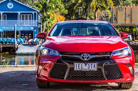 2016 Toyota Camry Atara SX Extrior