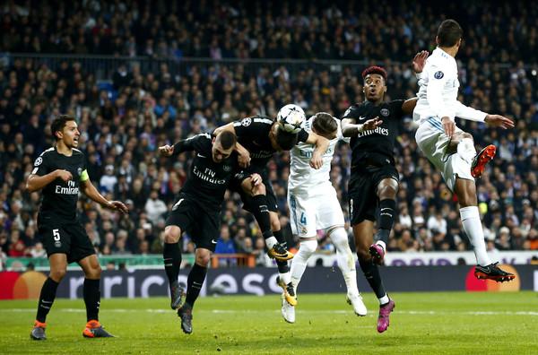 موعد مباراة ريال مدريد وباريس سان جيرمان والقنوات الناقلة بدوري أبطال أوروبا