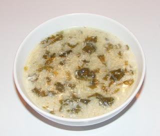 Supa greceasca de spanac cu oua si lamaie retete culinare,