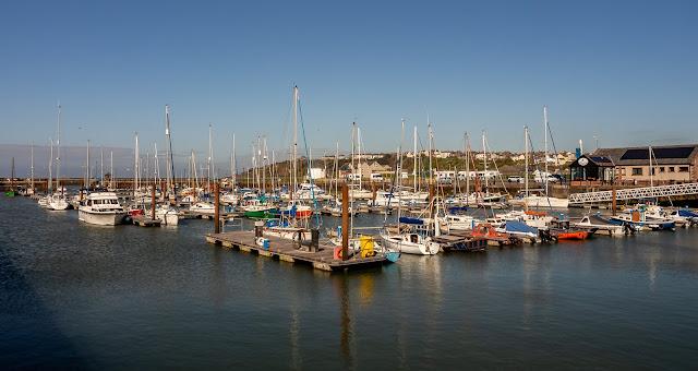 Photo of Maryport Marina in the sunshine