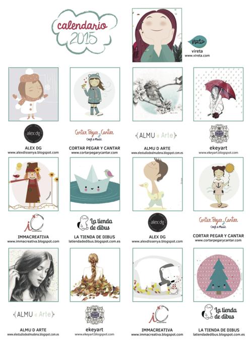 calendario-bonito-2015-regalo-la-tienda-de-dibus-amigo-invisible