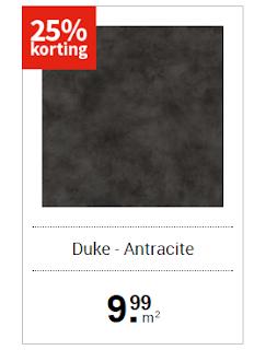goedkoop vinyl Duke carpetright met veel korting