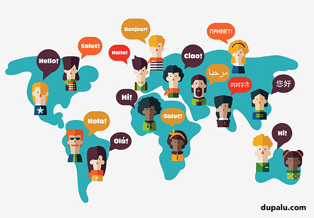 Idiomas del mundo. Dupalu