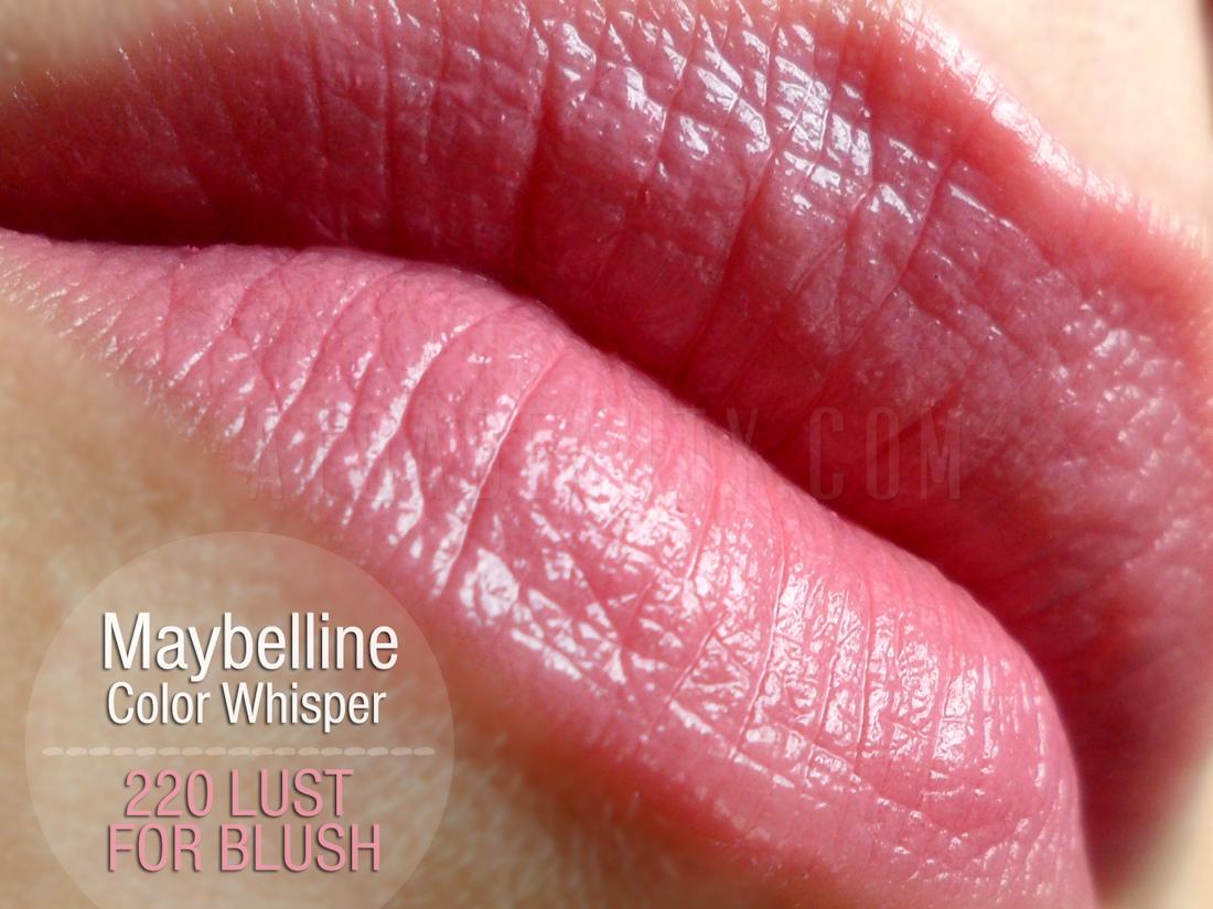 Maybelline Color Whisper 220 Lust For Blush