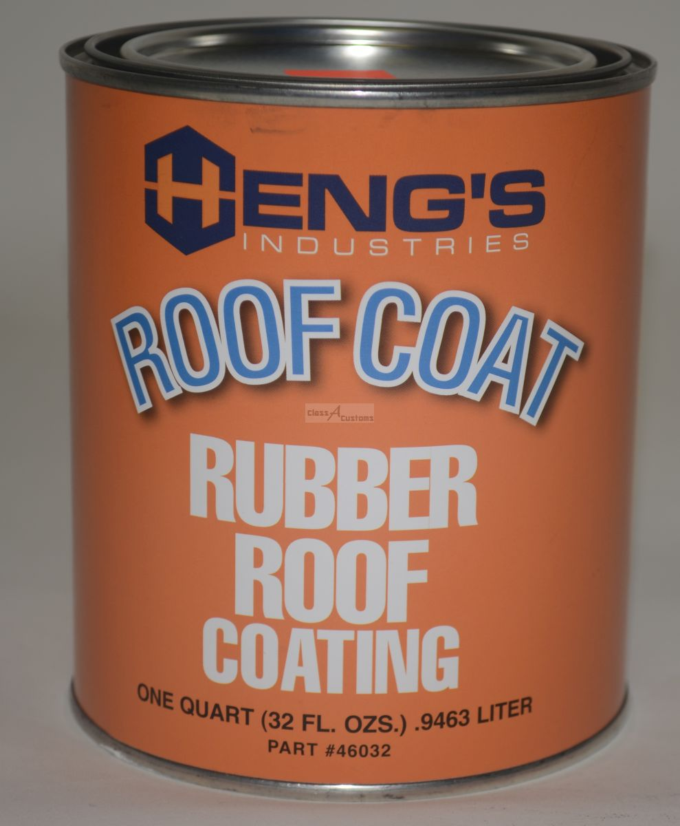 Class A Customs On Sale 1 Quart Rubber Roof Coating Heng
