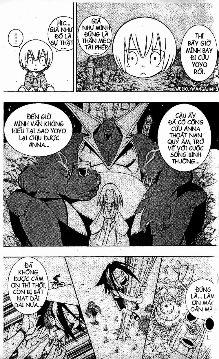 Shaman King [Vua pháp thuật] chap 202 trang 11