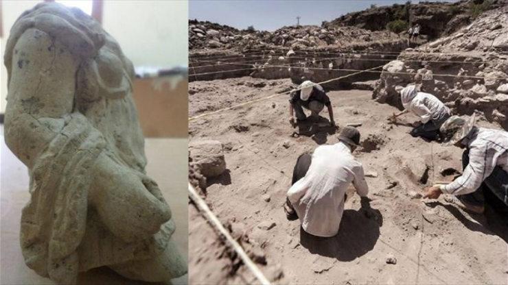 Μια αρχαία Ελληνίδα θεά αναδύεται από τη λάσπη του Ασουάν