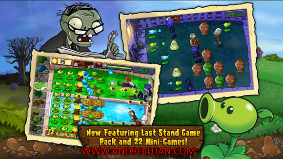 Plants vs. Zombies FREE Download Mod Apk + Data v1.1.62 Android Terbaru 2017 Gratis