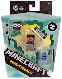 Minecraft Series 8 Tundra Engineer Mini Figure