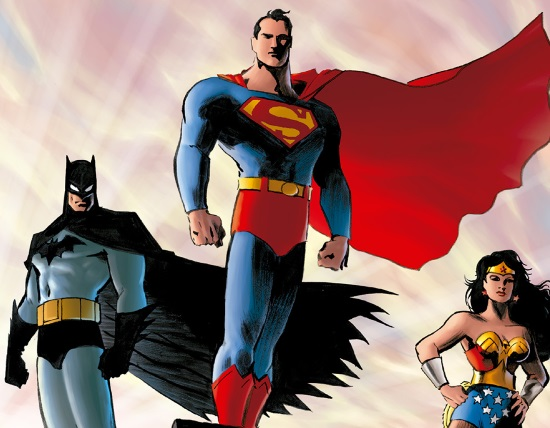 Superman, Batman y Wonder Woman