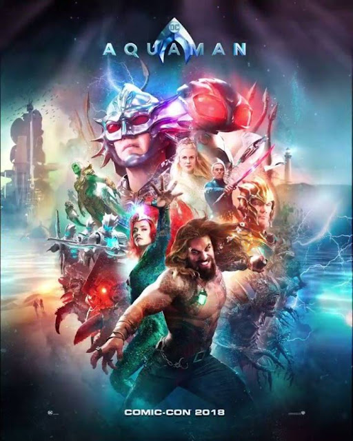 12 Official Poster Film Aquaman (2018)