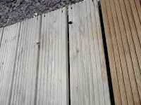 Garden deck unstained