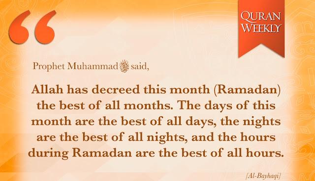 Ramadhan, Ramadhan 1440H, Quran Weekly