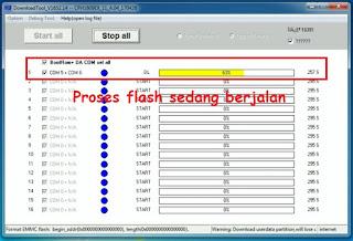 Cara Flash Oppo F3