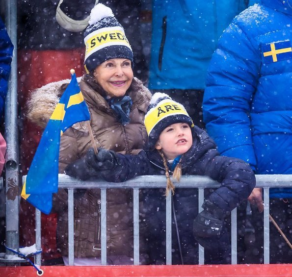 Queen SIlvia, Princess Estelle