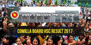 HSC Result 2017 Comilla Board