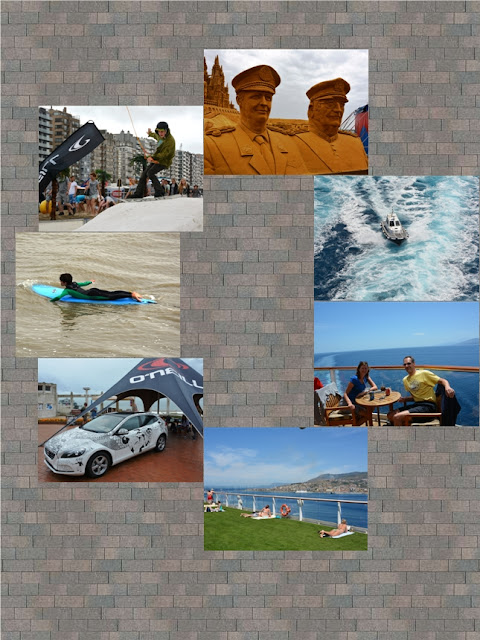 Collage Blankenberge and Cruise