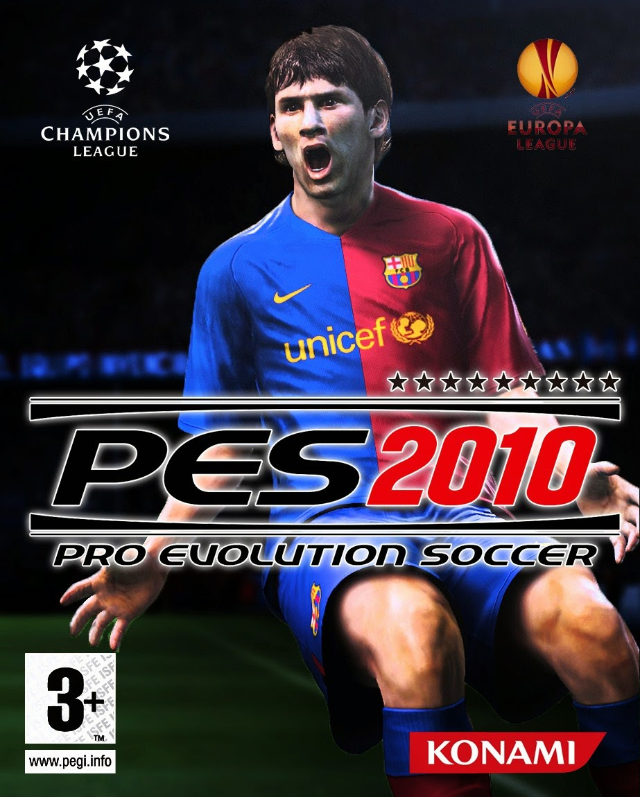 PES 2010 Highly Compressed + Serial Number For PC [26Mb]