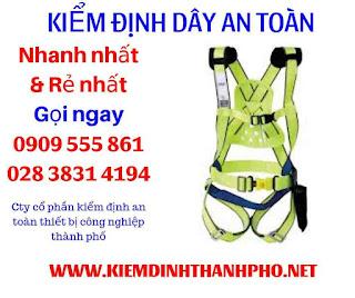 Lưu ý khi bảo quản và sử dụng dây an toàn