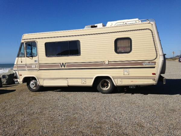 Used RVs Retro Style Winnebago Motorhome For Sale by Owner