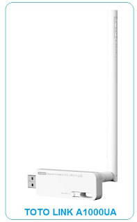 G band with less contention interference TOTO LINK A1000UA AC600 Wireless DRIVER | Direct Download Link | Windows