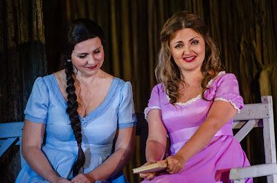 Anastasia Moskvina, Oksana Volkova - Tchaikovsky Eugene Onegin - Belarus Opera at Birgitta Festival - photo Heiti Kruusmaa
