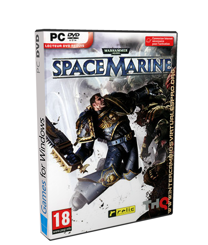 Warhammer 40.000 Space Marine Collection poster box cover