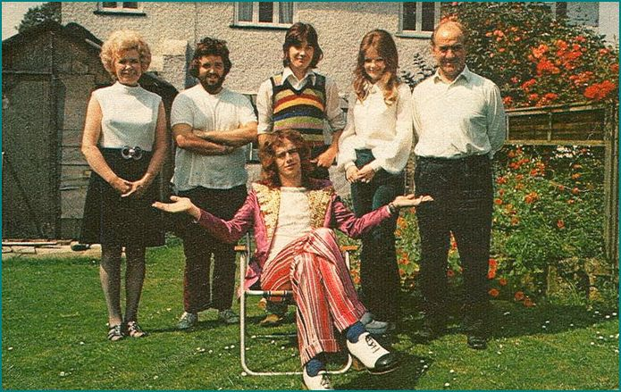 Jim Lea and family