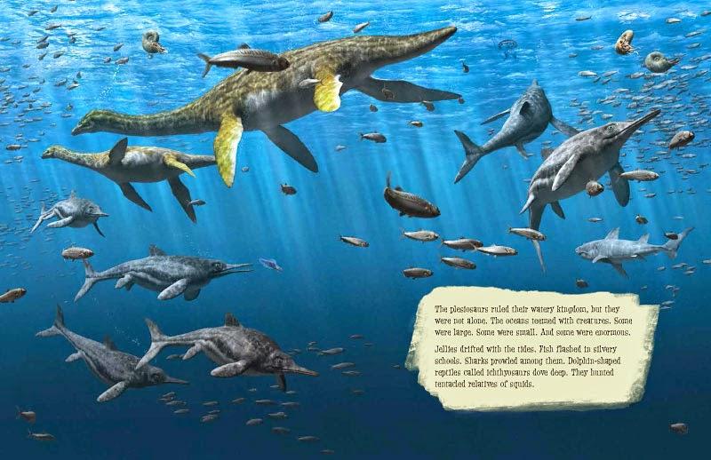 Jurassic Sea Animals
