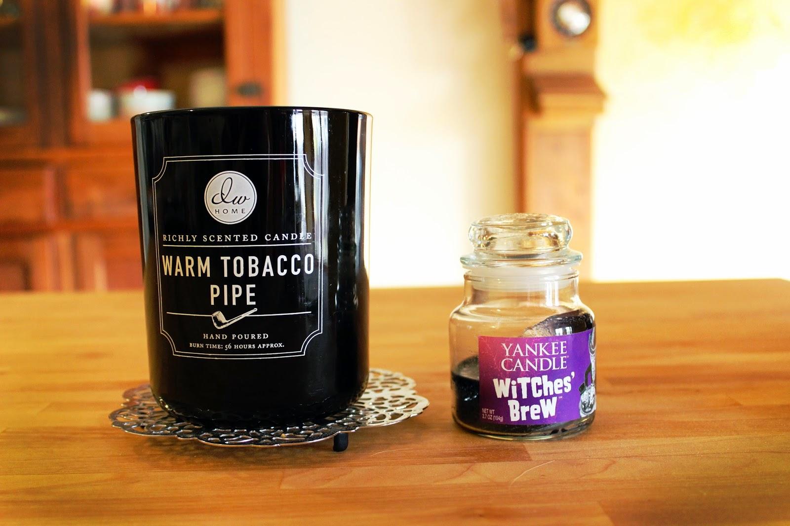 warm tobacco pipe