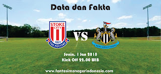 Data dan Fakta Fantasy Premier League Stoke City vs Newcastle United Fantasi Manager Indonesia
