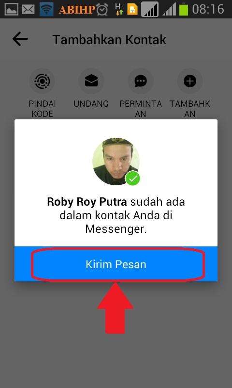 Mengetahui profil facebook dari nomor hp.