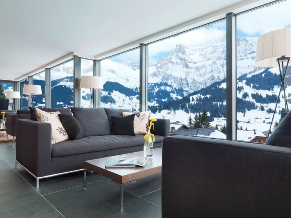 22 Stunning Hotels That Will Make You Want to Book Your Next Trip NOW! - Cambrian Hotel, Adelboden, Switzerland