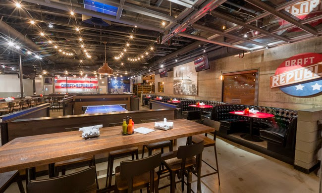 SanDiegoVille Look Inside The Cohn Restaurant Groups Newest Beer - Restaurant table games