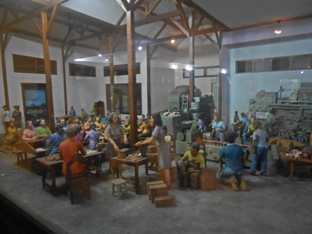 diorama museum kretek