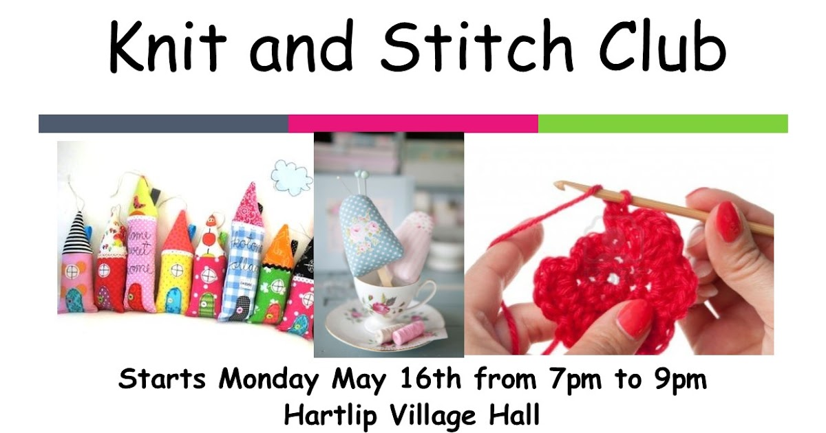 Julie Wilsons Designs: Knit and Stitch Club launch