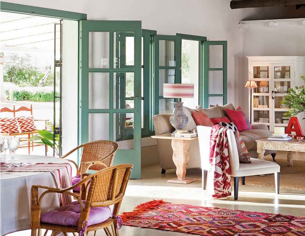 Decordemon a colorful andalusian farmhouse - Casas estilo mediterraneo ...