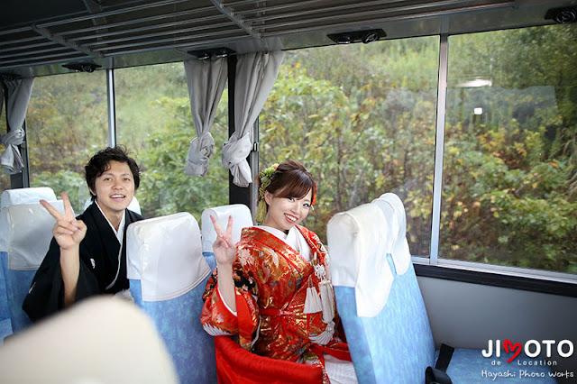 伊勢安土桃山文化村でロケーション撮影