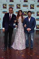 Raveena Tandon, Arshad Warsi and Boman Irani at the Launch Of New Show Sabse Bada Kalakar (6).JPG
