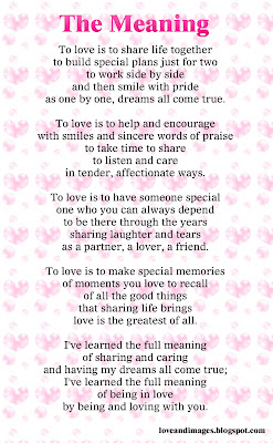 Love Quotes, Love Images, Sayings: Love poems to dedicate