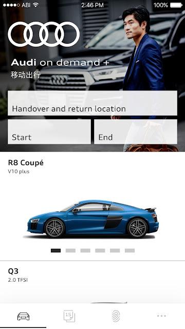 Audi lança serviço de mobilidade Audi on demand+ - China